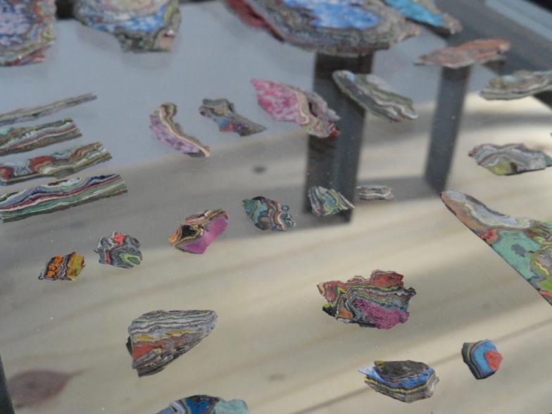 Fragments, installation, 2014